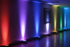 led uplighters hire in london